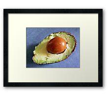 Juicy avocado Framed Print