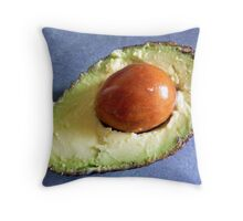 Juicy avocado Throw Pillow