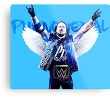 AJ Styles WWE  Metal Print