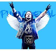 AJ Styles WWE  Photographic Print