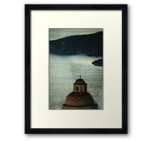 Greek Church Framed Print