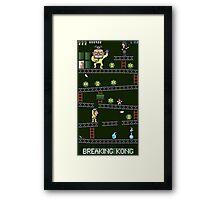 Breaking Kong Framed Print