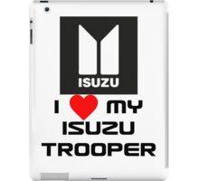 I Love My Trooper iPad Case/Skin