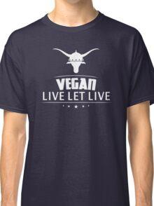 Vegan Vegetarian Classic T-Shirt