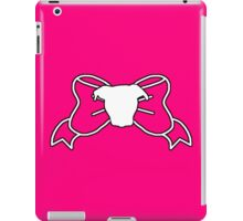 Pit Bull Bow iPad Case/Skin