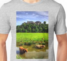 Keeping cool at the Castle Unisex T-Shirt