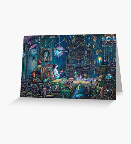Howl's room in Moving Castle Greeting Card