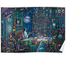Howl's room in Moving Castle Poster