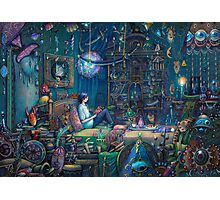 Howl's room in Moving Castle Photographic Print