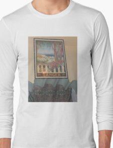 Atlas Travel Desert Caravan Tanger Tshirt Long Sleeve T-Shirt