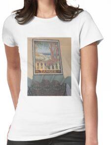 Atlas Travel Desert Caravan Tanger Tshirt Womens Fitted T-Shirt