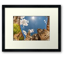 Primate Cathedral of Saint Mary of Toledo Framed Print