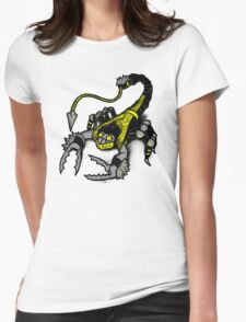 Realer Scorpion Womens Fitted T-Shirt