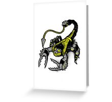 Realer Scorpion Greeting Card