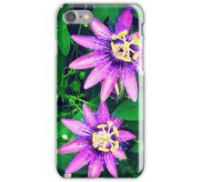 Purple Blooms iPhone Case/Skin