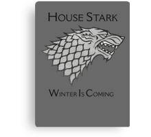 House Stark Direwolf Sigil Canvas Print