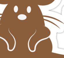 CRAZY Mouse Lady Sticker