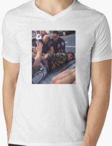 YMBape Arrested  Mens V-Neck T-Shirt