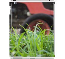 Big grass cutter iPad Case/Skin