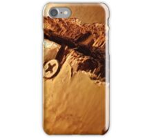 Rustic and broken table plank  iPhone Case/Skin