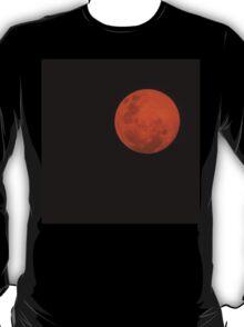 Full Moon - Black Night and Yellow Mystery  T-Shirt