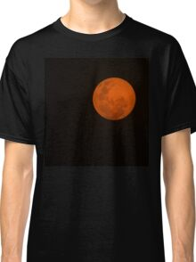 Full Moon - Black Night and Yellow Mystery  Classic T-Shirt