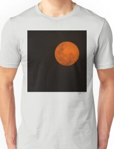 Full Moon - Black Night and Yellow Mystery  Unisex T-Shirt