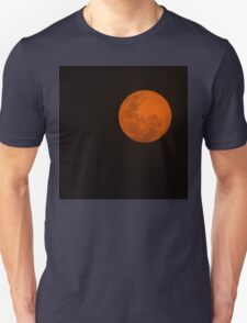 Full Moon - Black Night and Yellow Mystery  T-Shirt