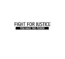 Fight for Justice by PharrisArt