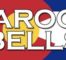 Maroon Bells - let's go skiing!   Sticker
