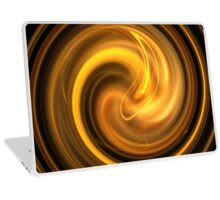 Warm Autumn Swirl Laptop Skin