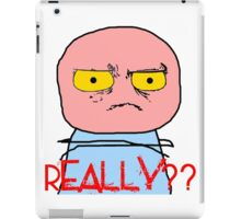 Really Meme iPad Case/Skin