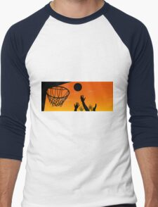 Above the Rim Men's Baseball ¾ T-Shirt