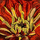 Vivid Evocative Floral Mosaic by Georgia Mizuleva