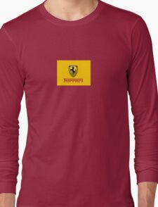 ferrari Long Sleeve T-Shirt