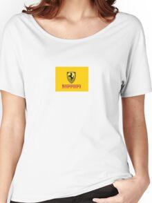 ferrari Women's Relaxed Fit T-Shirt