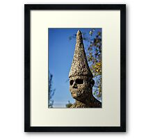Sculpture close to the Nishi Building in Canberra/ACT/Australia (3) Framed Print