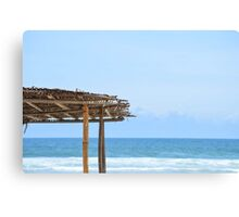 Beach Side in Africa  Canvas Print