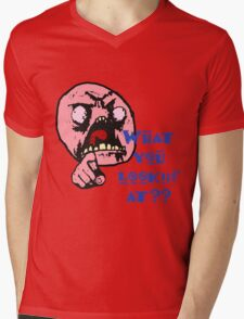 What Are You Looking At Mens V-Neck T-Shirt