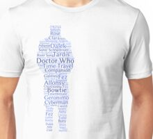 Doctor Who Word Cloud Unisex T-Shirt