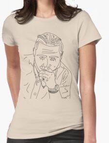Post Malone cartoon/sketch merch Womens Fitted T-Shirt