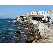 nisyros greece  Photographic Print