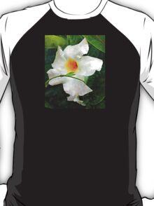 White Mandevilla II T-Shirt