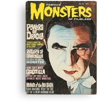 Famous MONSTERS of Filmland Canvas Print