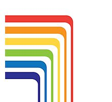 Late 80's Rainbow Photographic Print