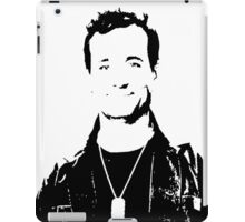 Bill Murray Stripes - Black and White iPad Case/Skin