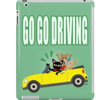 GO GO DRIVING iPad Case/Skin
