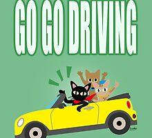 GO GO DRIVING by BATKEI