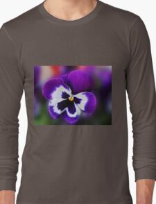 Pansy Dreaming of Summer Long Sleeve T-Shirt