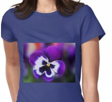 Pansy Dreaming of Summer Womens Fitted T-Shirt